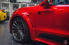 Porsche Macan на дисках Vossen Forged VPS-305