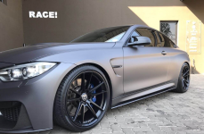 BMW M4 на дисках HRE FF04