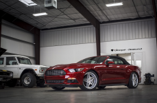 Ford Mustang на дисках Blaque Diamond BD-8