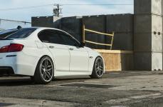 BMW 535i на дисках Ferrada FR5 Matte Graphite