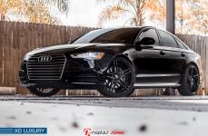 Audi A6 на дисках XO Luxury Caracas