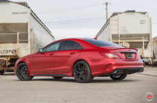 Mercedes-Benz CLS 63 на дисках Vossen Forged VPS-315T