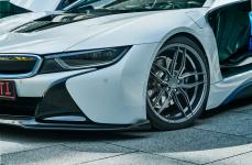 BMW i8 на дисках Ferrada Wheels F8FR5
