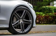 Mercedes Benz W205 на дисках Vossen VFS5