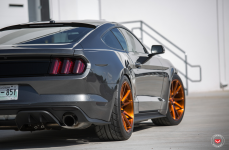 Ford Mustang GT на дисках Vossen Forged VPS-301