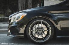 Mercedes Benz CLA 45 AMG на дисках Vorsteiner V-FF 105 R19