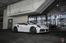 Porsche 992 на дисках VOSSEN FORGED S21-01
