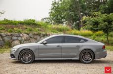 Audi RS7 на дисках Vossen VFS-5