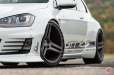 VW Mk7 GTI RS на дисках Vossen Forged VPS-317