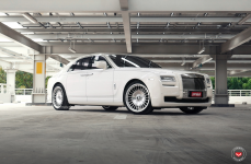 Rolls Royce Ghost на дисках VOSSEN FORGED ML-R1