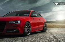 Audi S5 на дисках Vorsteiner V-FF 102