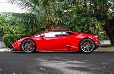 Lamborghini Huracan на дисках VOSSEN FORGED M-X3