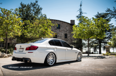 BMW 5 на дисках Blaque Diamond BD3