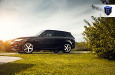 Range Rover на дисках Rohana RC22
