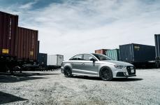 Audi RS3 на дисках V-FF 108 Carbon Graphite