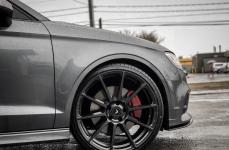 Audi S3 на дисках Vorsteiner V-FF 102 Carbon Graphite