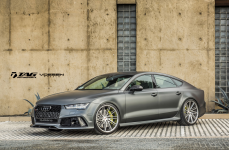 Audi RS7 на дисках Vossen Forged VPS-307T