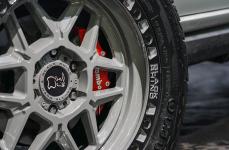 Mitsubishi Pajero Sport на дисках Black Rhino Kelso