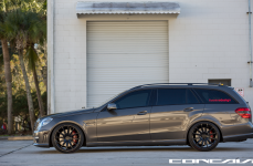 Mercedes Benz E63 Wagon на дисках Concavo CW-12