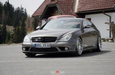 Mercedes Benz CLS на дисках Vossen Forged VPS-313