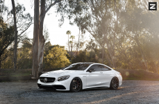 Mercedes Benz C217 S63 AMG Coupe на дисках ZITO ZS03