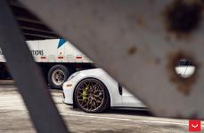 Porsche Panamera на дисках Hybrid Forged HF-2