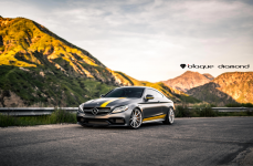 Mercedes Benz C63 AMG S Edition 1 на дисках Blaque Diamond BD11