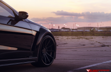 Mercedes E550 на дисках Ferrada Wheels FR4