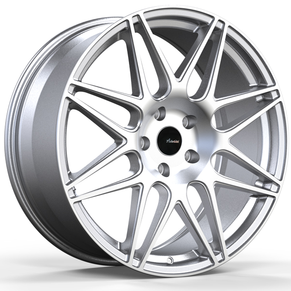 ADVANTI RACING CLASSE Silver with Machined Face