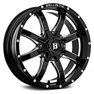 BALLISTIC - ANVIL Gloss Black with Milled Window