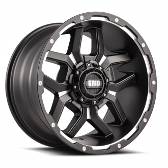 GRID OFF-ROAD - GD-7 Matte Black Milled