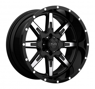 TUFF - T15 Gloss Black with Machined Face