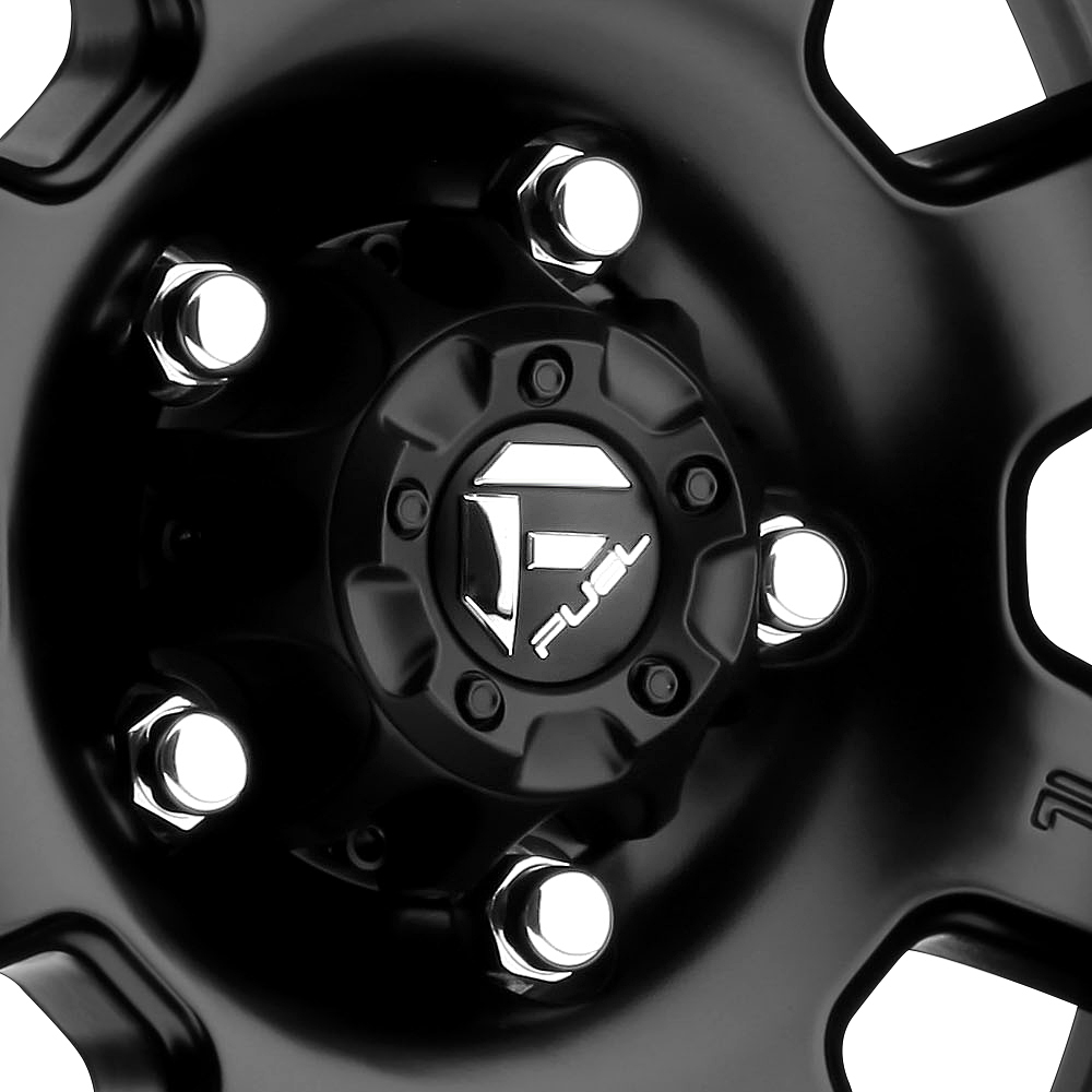 FUEL TROPHY Matte Black with Graphite Bead Ring