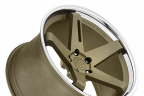 BLAQUE DIAMOND BD-21 Matte Bronze with Chrome Lip