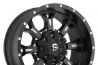 FUEL KRANK Black with Milled Accents