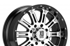 KMC XD SERIES XD795 HOSS Gloss Black with Machined Face