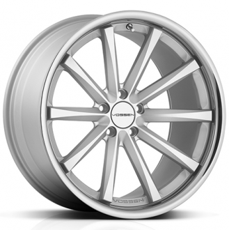 VOSSEN - CV1 Matte Silver with Machined Face