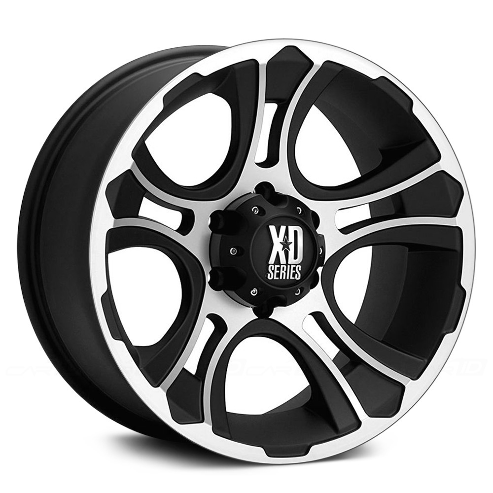 KMC XD SERIES XD801 CRANK Matte Black with Machined Face