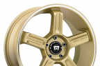 MOTEGI RACING MR122 Gold with Machined Groove