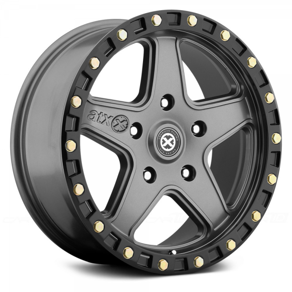 ATX SERIES AX194 RAVINE Matte Gray with Black Reinforcing Ring