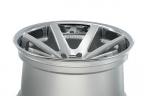 FERRADA FR1 Machine Silver with Chrome Lip