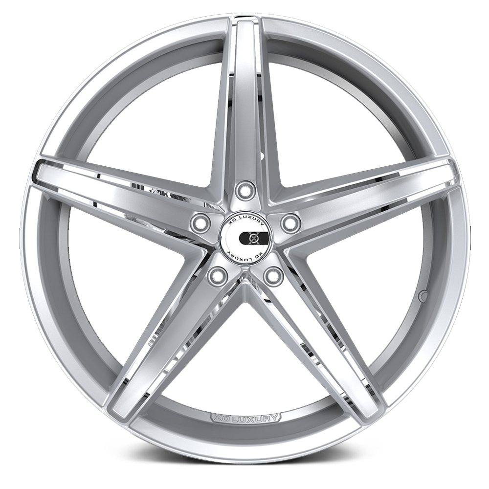 XO LUXURY ST. THOMAS Chromed Silver
