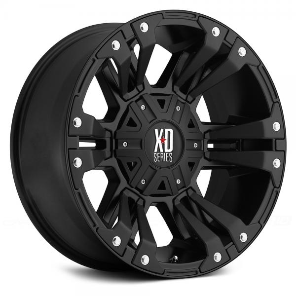 KMC XD SERIES XD822 MONSTER 2 Satin Black