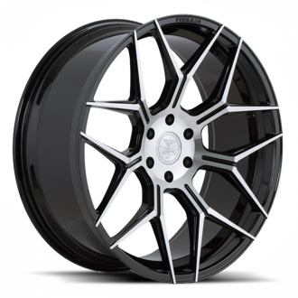FERRADA - FT3 Gloss Black with Brushed Face