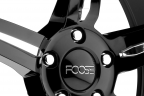 FOOSE ENFORCER Black with Chrome Inserts