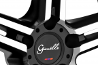 GIANELLE LUCCA Black with Machined Face