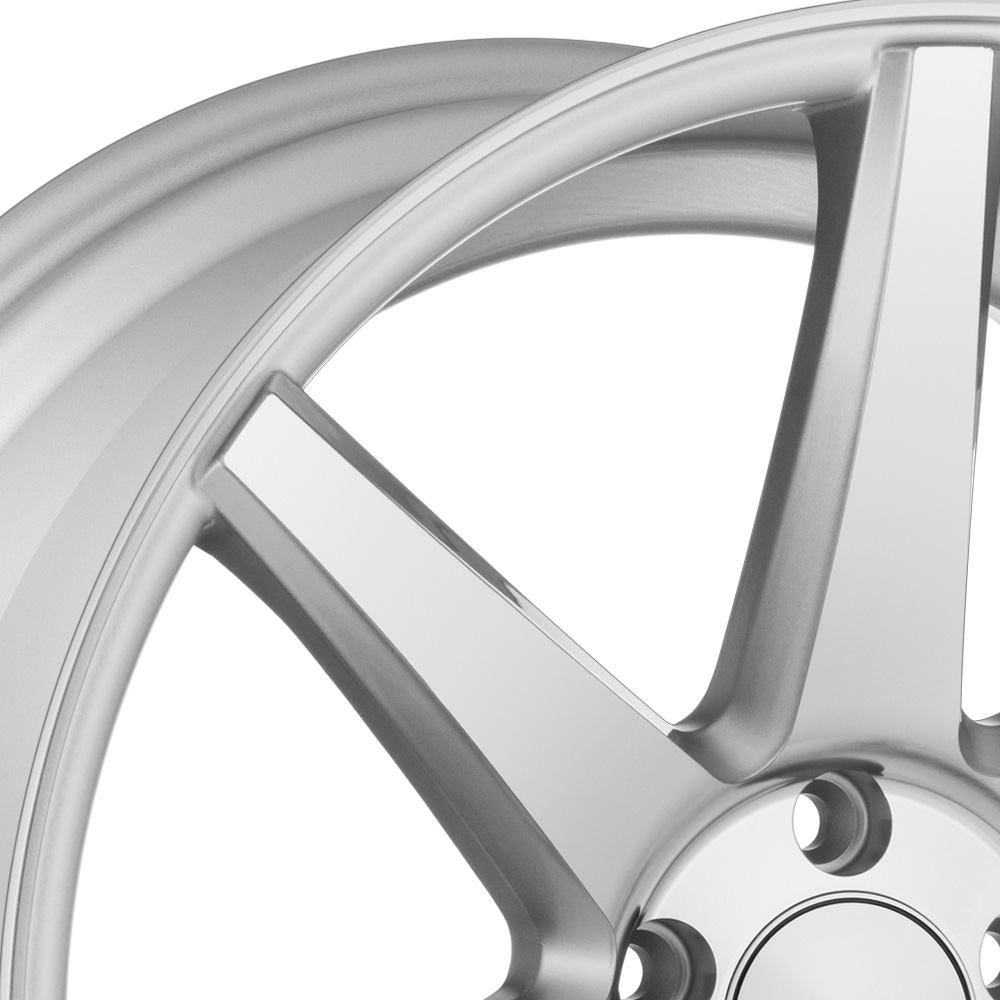 VOSSEN CV7 Silver Polished