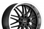 ADVANTI RACING KUDOS Matte Black with Machined Lip