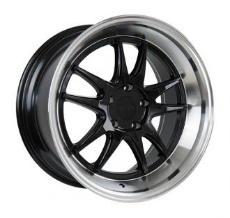 F1R - F102 Gloss Black with Polished Lip