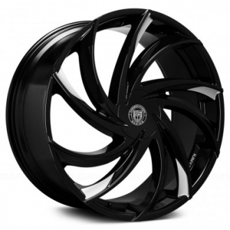 LEXANI - TWISTER Gloss Black with Machined Accents